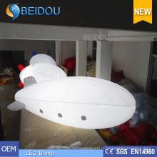 Lighted gonflable Air Helium Balloon LED Publicité RC Airship Blimp
