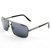 Mode-Förderung polarisierte Retro-Metall-Sonnenbrille für Männer