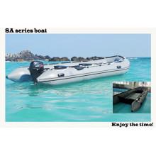 "16.5 ""SA-Reihen-Schlauchboot-Aluminiumboden-Boots-Arbeitsboot-Rettungsboot mit CER China"""