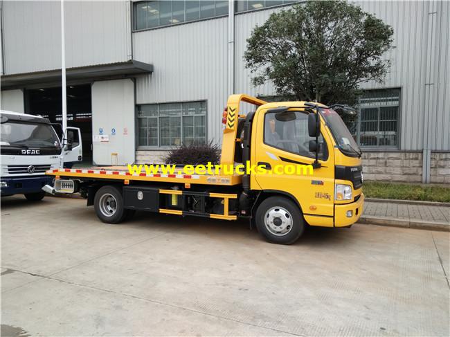 4 Ton Flatbed Car Towing Trucks