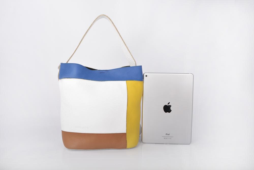 Top grade nappa leather vintage handbag designer hand bag genuine leather women bucket bags