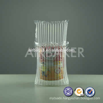 Cheap Bubble Air Bag Packing Air Filling Bags for cushion protective milk powder can in transport process