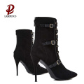 newest new design fashion black women boots