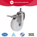 Stainless 4 Inch 110Kg Threaded Brake TPA Caster