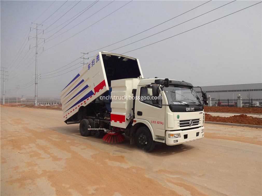 street sweeper vacuum truck 2