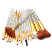 Набор кисточек для макияжа с 18 ручками