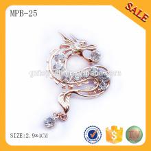 MPB25 Прямая связь с розничной торговлей металла значок с застежкой бабочки от Гуанчжоу
