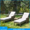 New Design Hot Sale Sunshade Folding Beach Sun Lounger/Bed