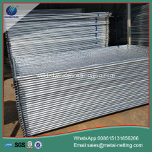 temporary traffic barrier pipe welded temporary fence