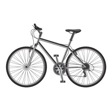 Aluminium Fahrradrahmen Licht