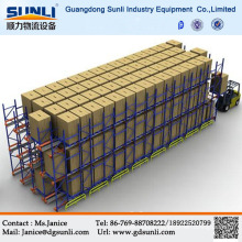 Radio Shuttle Storage Pallet Mobile Rack