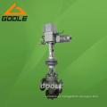 Válvula reductora de presión de vapor motorizada (GAY945H)