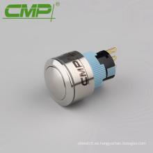 Interruptor de impulso momentáneo de cabeza de bola de 22 mm o 16 mm