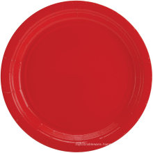 Weeding Party Pack Paper Dinner Plates Multicolor Red /Blue Color Plates