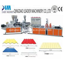 Línea de extrusión de cartón corrugado UPVC / PVC