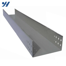 perforated trough galvanized cable tray, soild through cable tray, galvanized ventilated trough cable tray