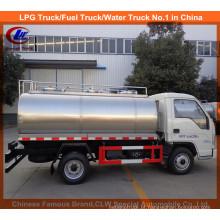 Caminhão forte do leite de 3m3 mini para o petroleiro polar do transporte do leite