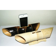 Bamboo Docking Speaker for iPhone4 and iPhone5