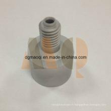 Produits de tour CNC Pièces de fil extérieur en aluminium (MQ717)