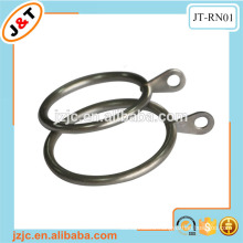 Bronze metal curtain rod ring eyelet