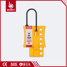 BOSHI hot sale hasp lock BD-K45 , industrial lockout hasp for lockout using with CE ROHS
