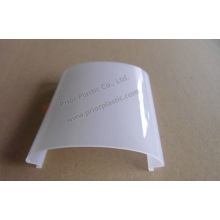 Glatte Oberfläche PC Extrusion Profil für LED-Licht