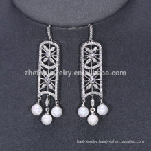 2018 valentine's day sample market sliver earring for women