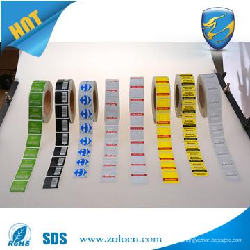 hot sale eas security sticker label 8.2mhz eas rf label