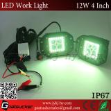 3'' led pods light truck jeep atv working light rgb bluetooth control flush mount light