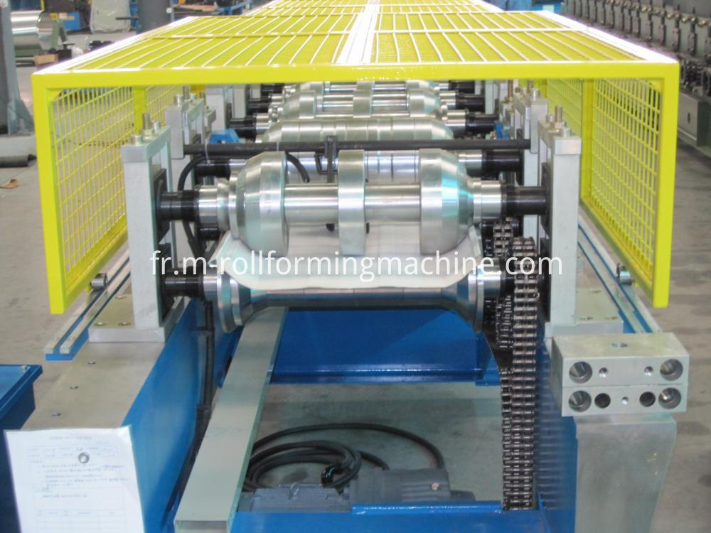 Steel wall plate rolling forming machine