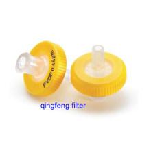 Instrumento do laboratório do filtro da seringa de 0.45 mícrons de 0.45 mícrons PVDF