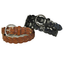 Fashion Weave Style Young Lady′s Belt Braid Belts (KY3560)