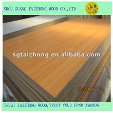 Haute qualité, prix usine planche mdf en 1220 * 2440mm taille
