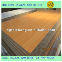high quality,factory price mdf board in 1220*2440mm size