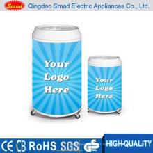china supplier mini slim upright round freezer