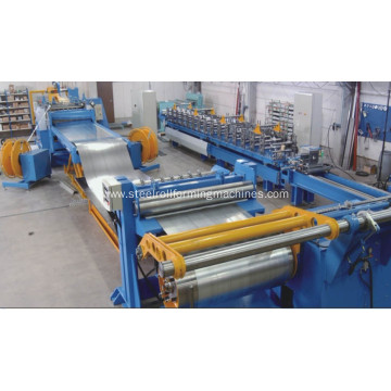 easy operating coil steel processing slitting line
