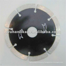 alloy steel dry cutting diamond silent cutter for granite