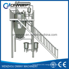 Rho High Efficient Factory Price Energy Saving Hot Reflux Solvent Extracting Tank Herbal Distiller