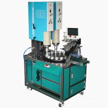 Máquina de soldadura ultrasónica de mesa rotativa