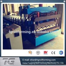 New technology Arc Bias Glazed Tile Roll Forming Machine On Alibaba