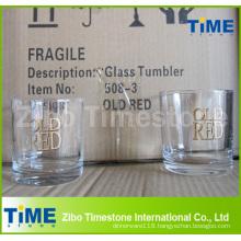 Round Bottom Drinking Tea Tumbler Glass