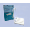 Adjustable Seat Chair folding Bath Stool