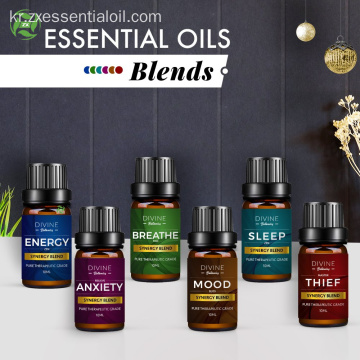 데이 선물 Essential Oil Blend Set top 6