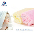 China factory supply bamboo fiber baby washcloths white super soft
