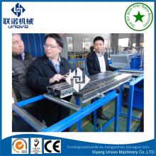 Bastidor de almacenamiento rodillo vertical que forma la máquina unovo maquinaria