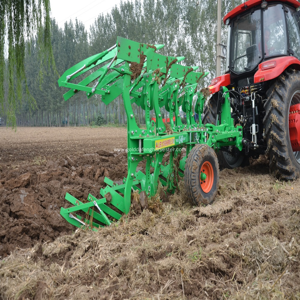four furrow hydraulic reversible plow