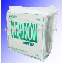 (Chaude) usine fournisseur prix salle blanche lingettes pour 100% Polyester lingettes avec une haute qualité