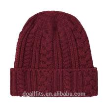 Vierge avec logo personnalisé bonnet bonnet bonnet bonne qualité