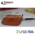 Bandeja cerâmica da chapa de cobre de 9,5 / 11inch com indução
