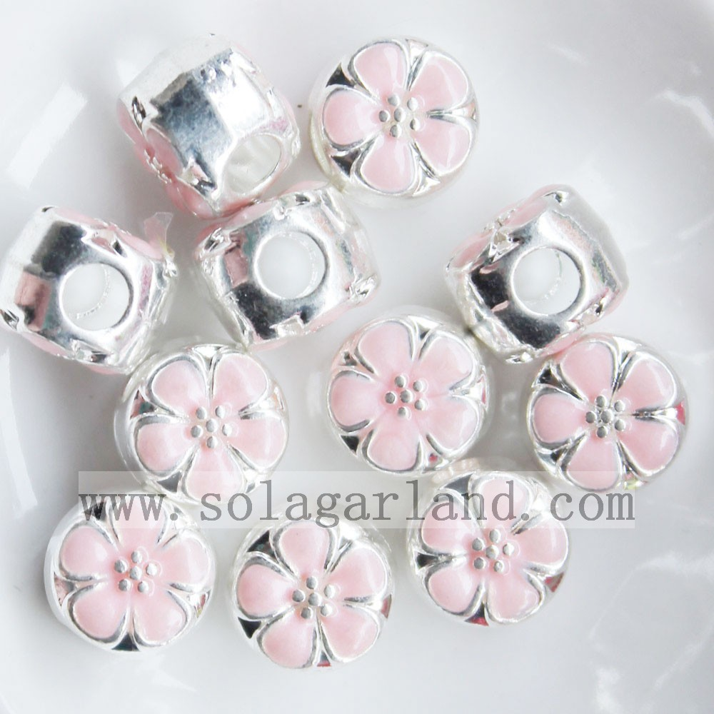 Color Oil Drop Beads Charms
